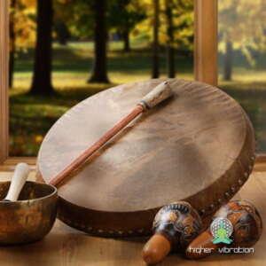 Šamanski bobni, ropotulje in pripomočki