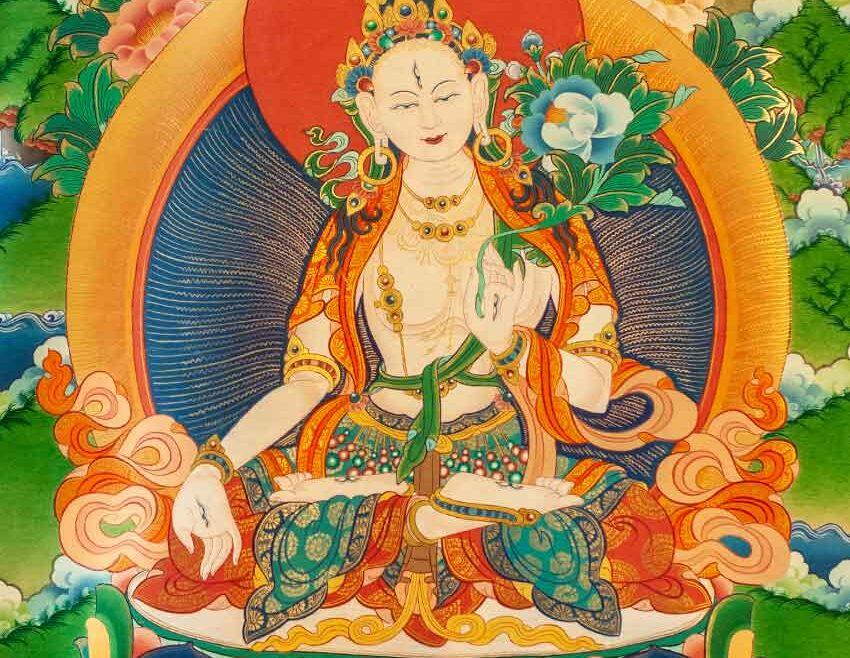 Bela Tara in mantra čiščenja