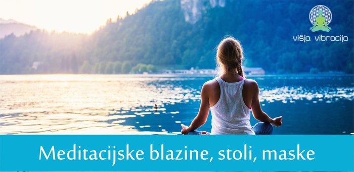 meditacijske blazine blazine za meditacijo meditacijski stoli meditacijske maske meditacijska maska mindfold meditacijski pripomočki višja vibracija 1