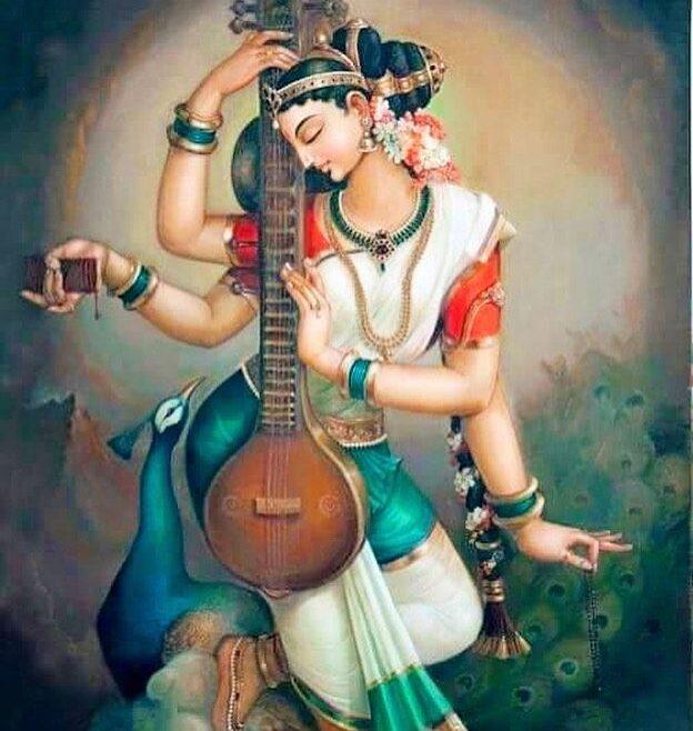 Saraswati in mantra uravnovešanja