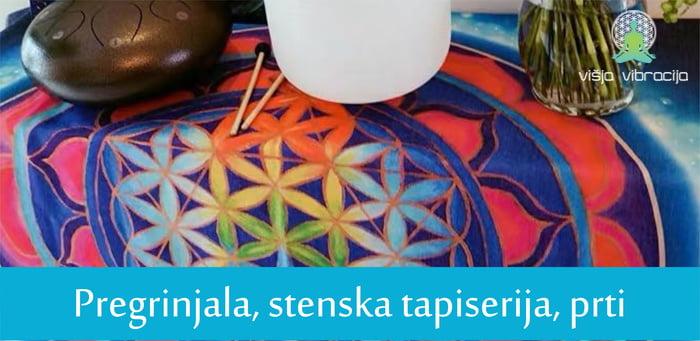 stenska dekoracija tapiserija prti roža življenja sveta geometrija1